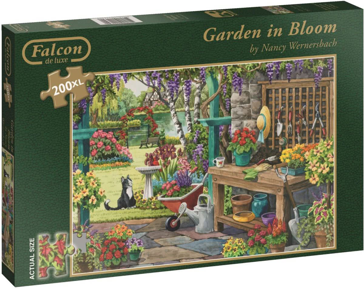 Falcon Garden in Bloom XL 200 stukjes - Legpuzzel