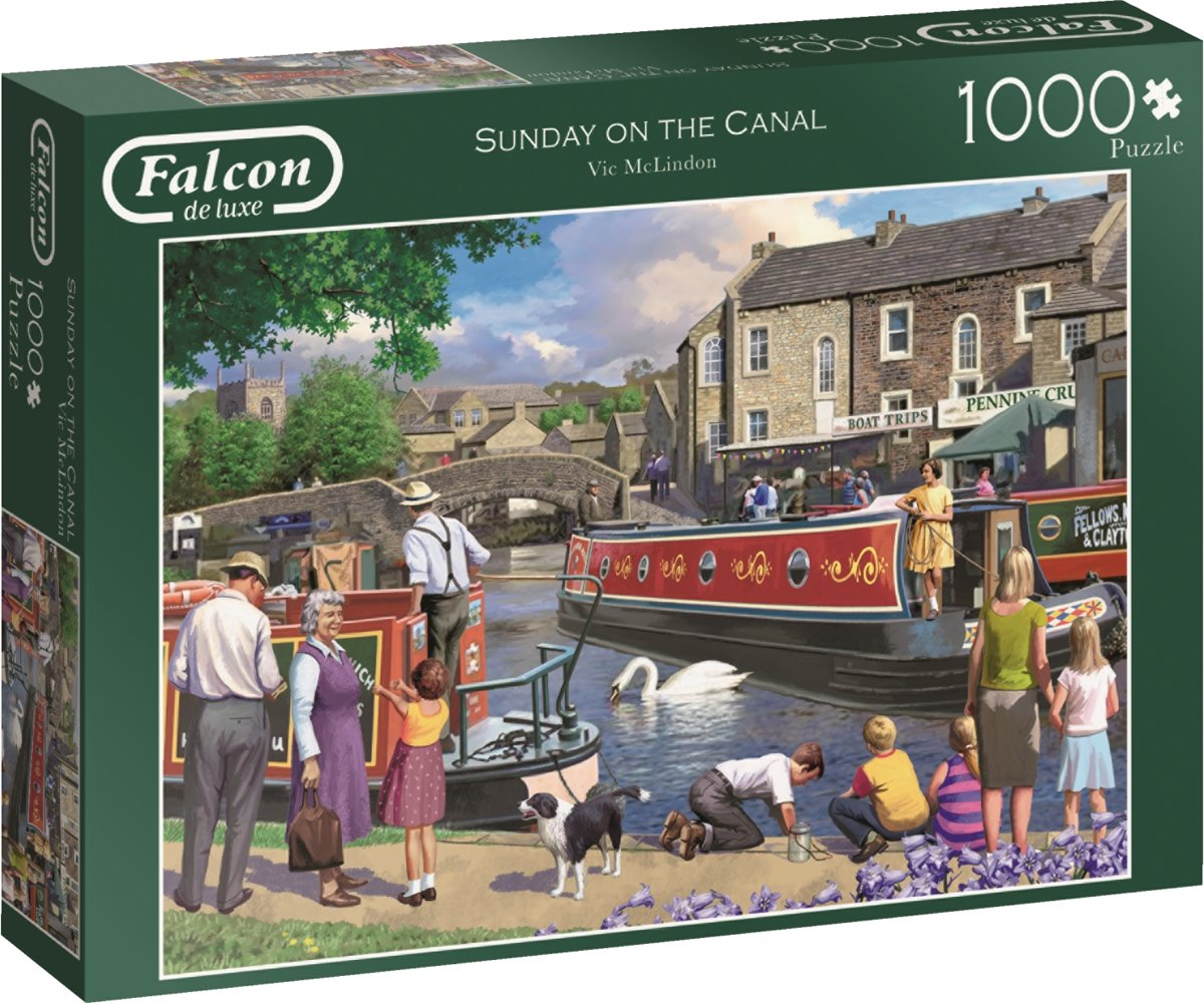 Falcon Sunday on the Canal1000