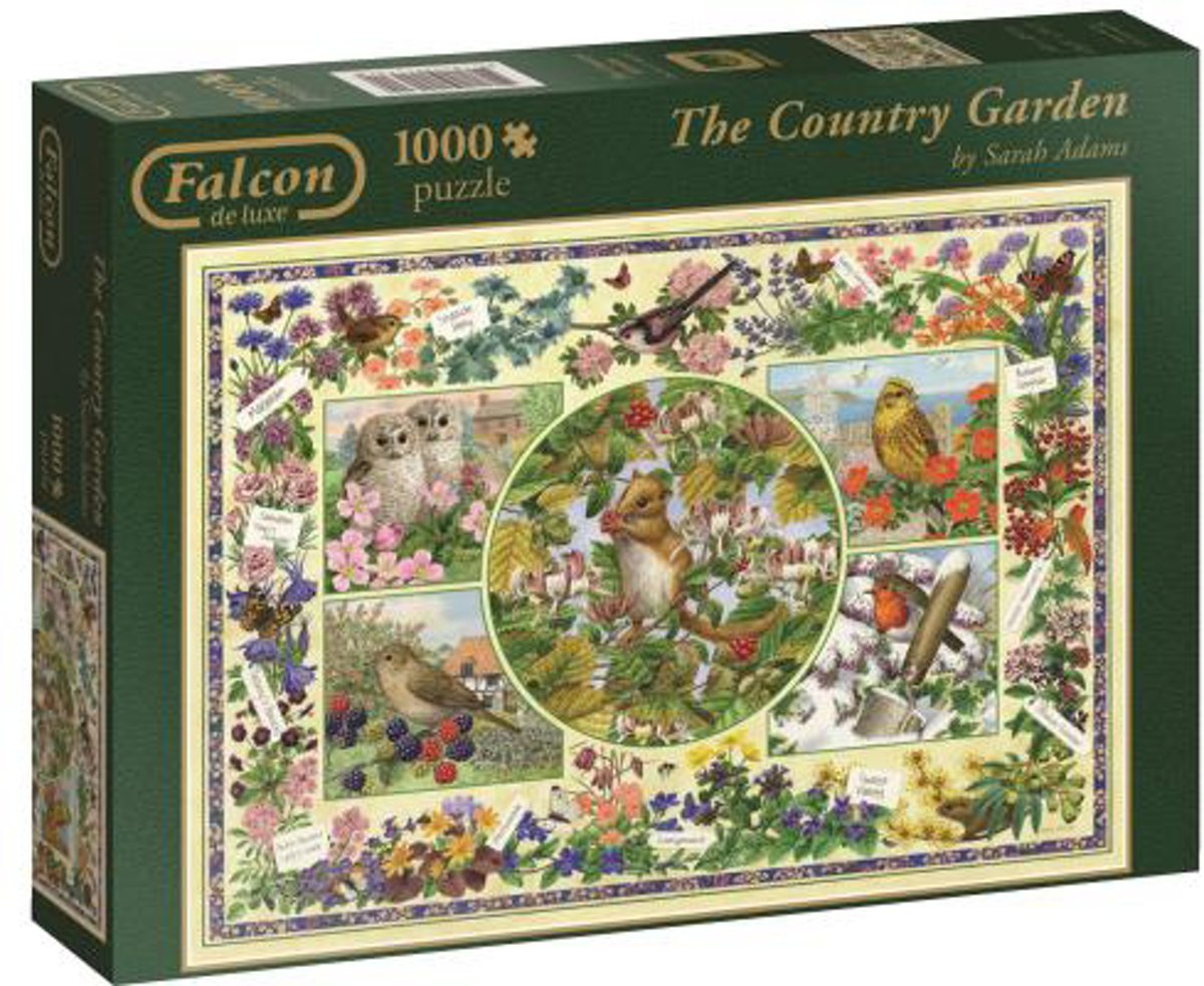 Falcon The Country Garden - Puzzel 1000 stukjes
