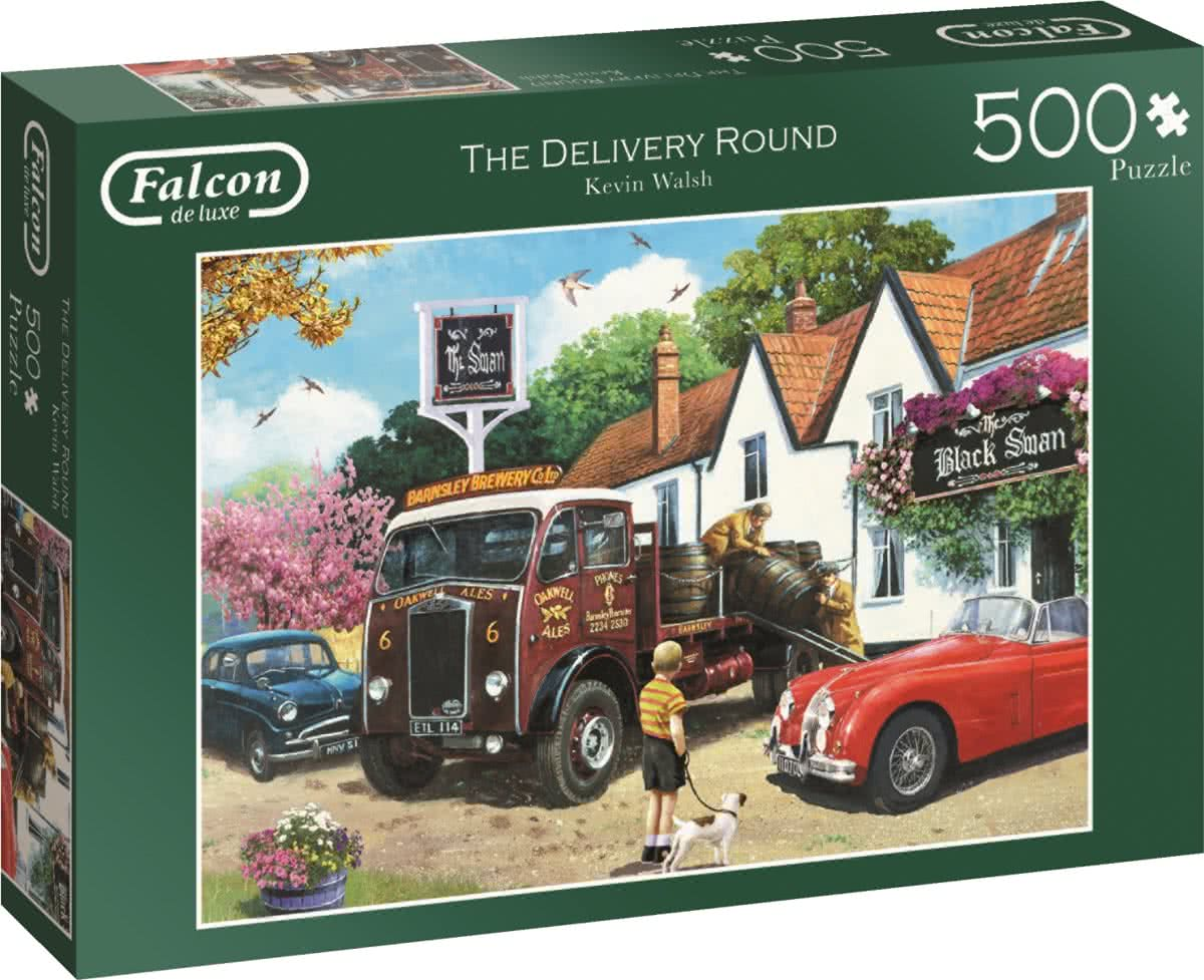 Falcon The Delivery Round Puzzel 500 stukjes