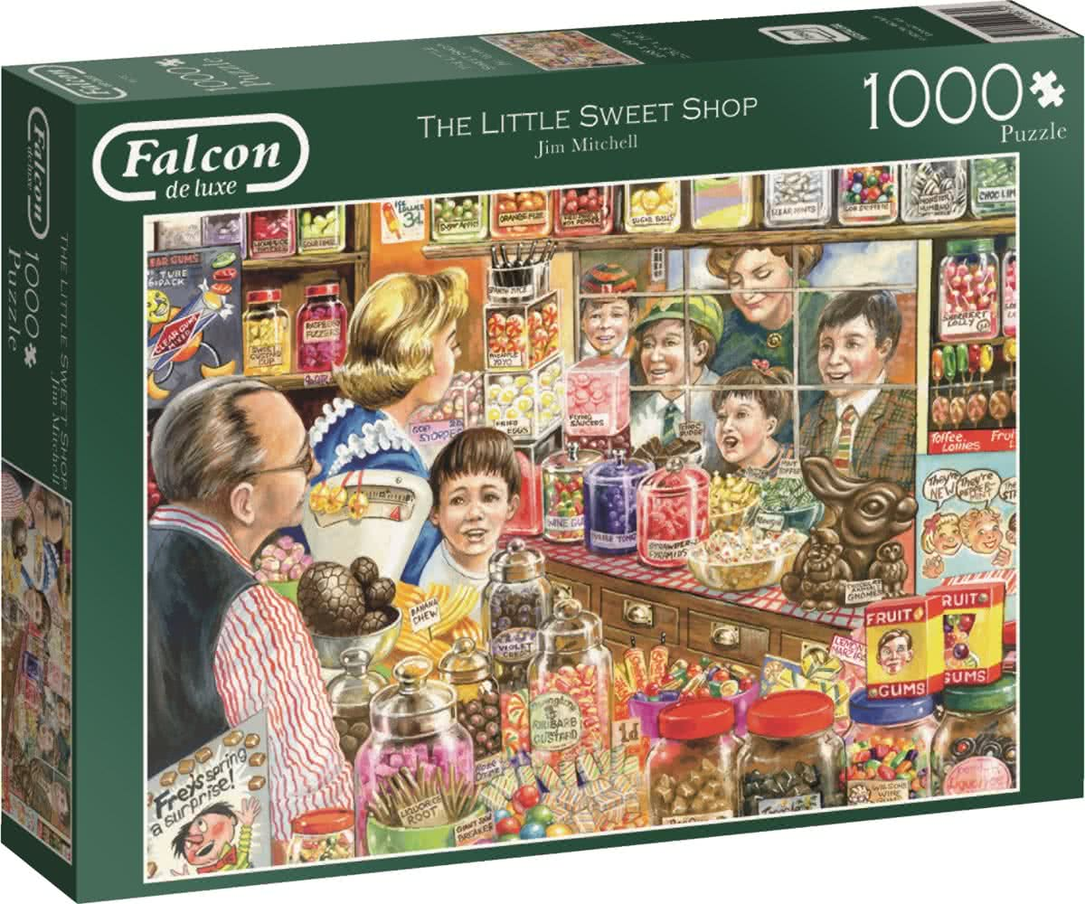 Falcon The Little Sweet Shop - Legpuzzel - 1000 Stukjes