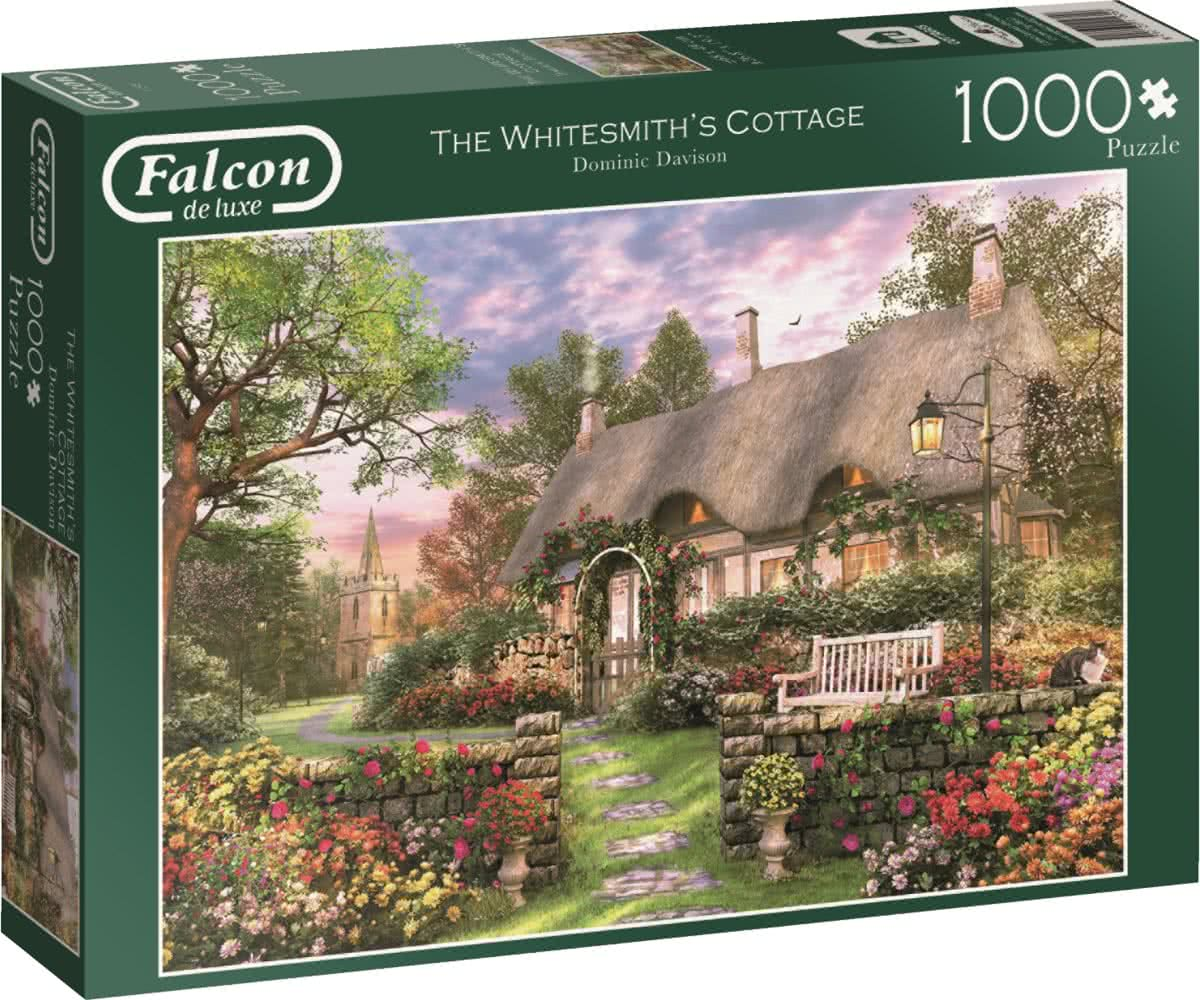 Falcon The Whitesmith Cottage - Legpuzzel - 1000 Stukjes