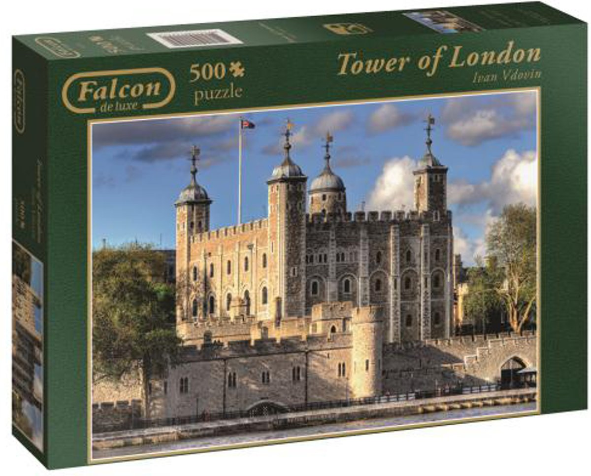 Falcon Tower of London - Puzzel 500 stukjes