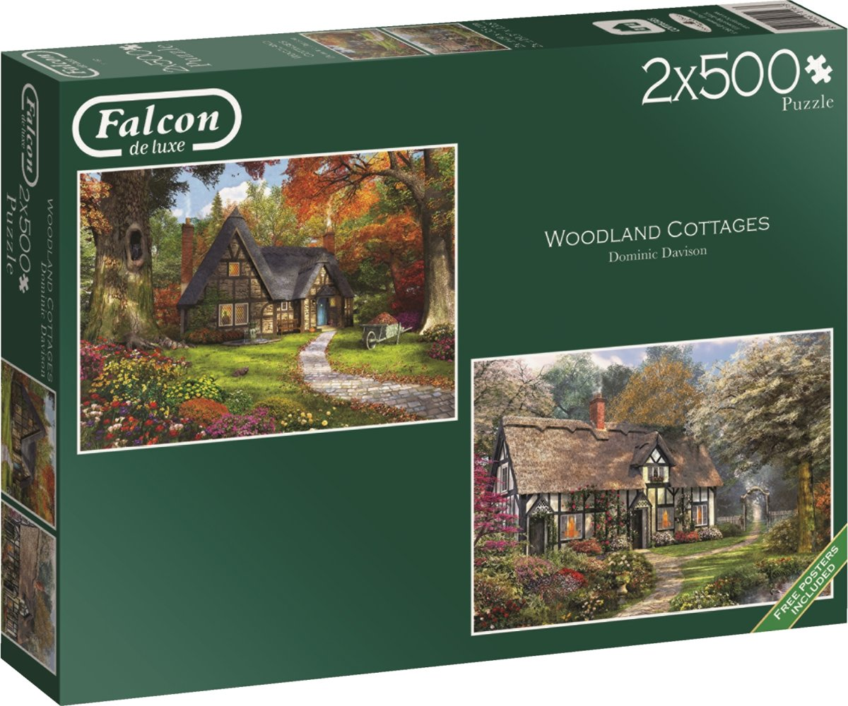 Falcon Woodland Cottages 2x500 stukjes