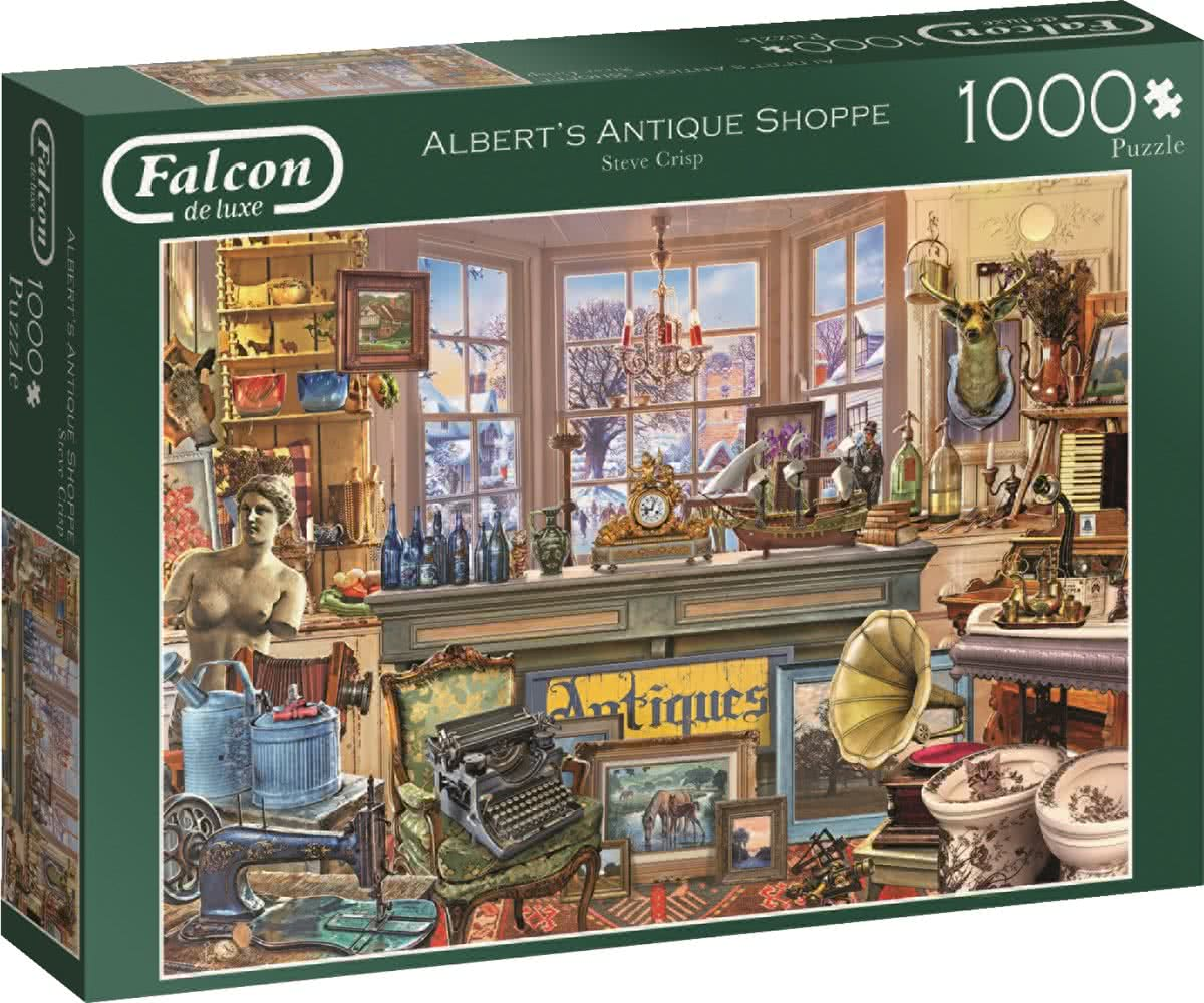 Falcon de luxe Albert's Antique Shop Puzzel 1000 stukjes
