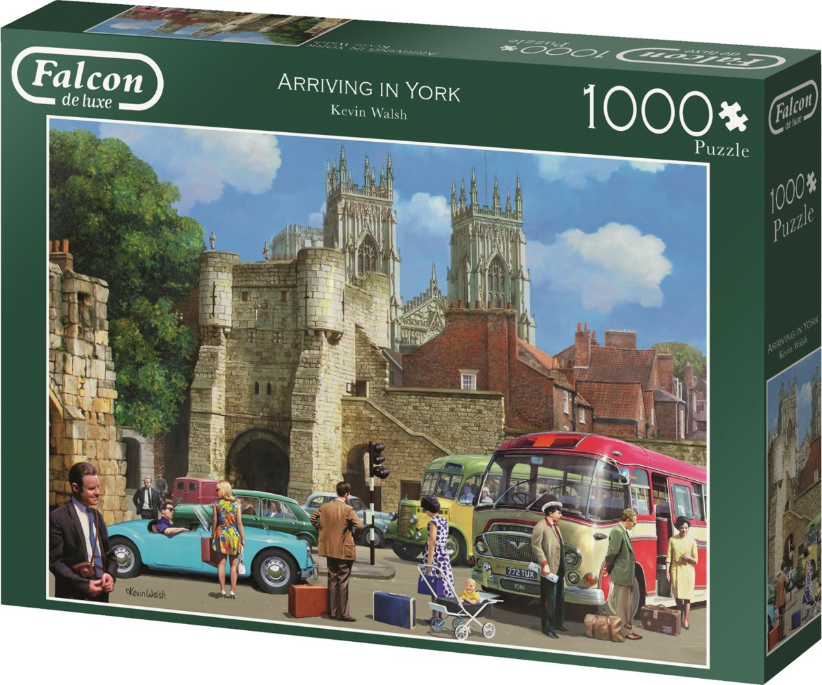 Falcon de luxe Arriving in York 1000 pcs 1000stuk(s)