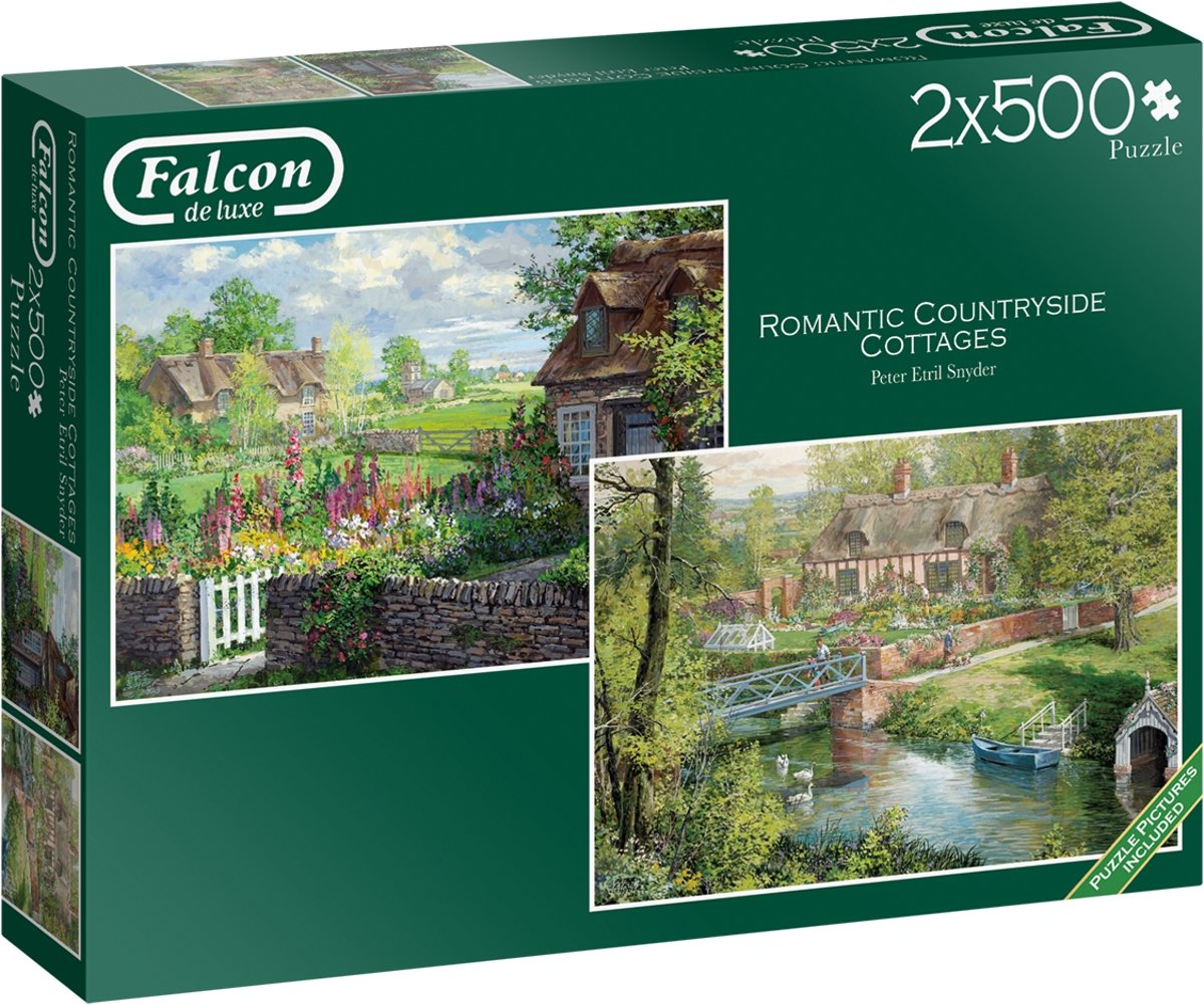 Falcon de luxe Romantic Countryside Cottages 2 x 500 stukjes