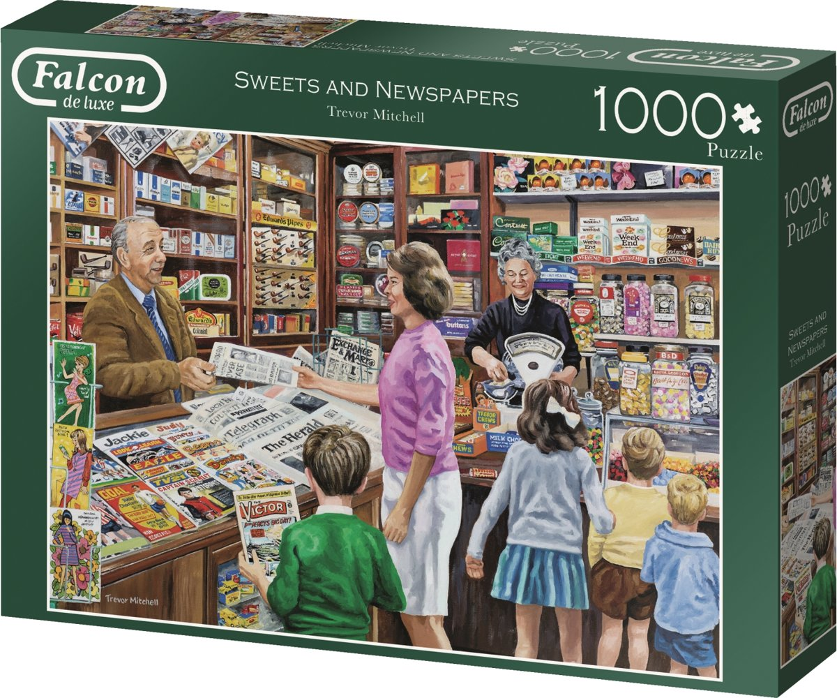 Falcon de luxe The Newsagent 1000 pcs 1000stuk(s)