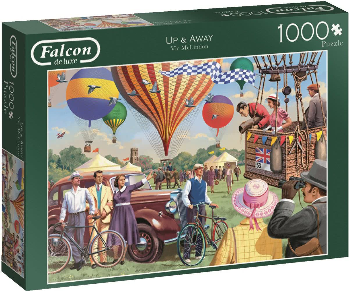 Falcon de luxe Up & Away 1000 Stukjes