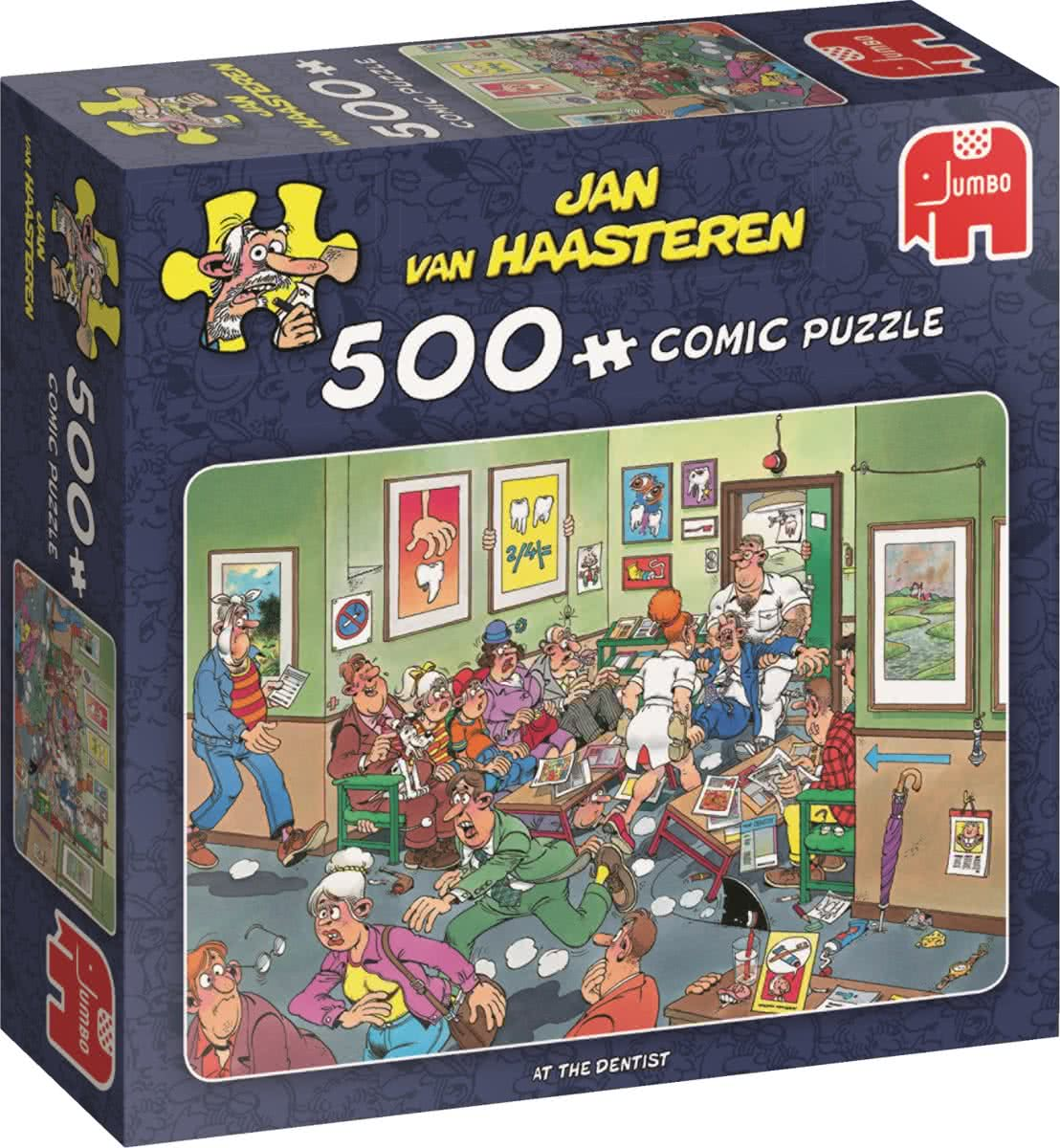 Jan van Haasteren At the Dentist 500 pcs 500stuk(s) bij de tandarts