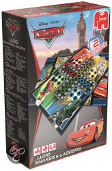 Jumbo Cars 2-in-1 - Bordspel