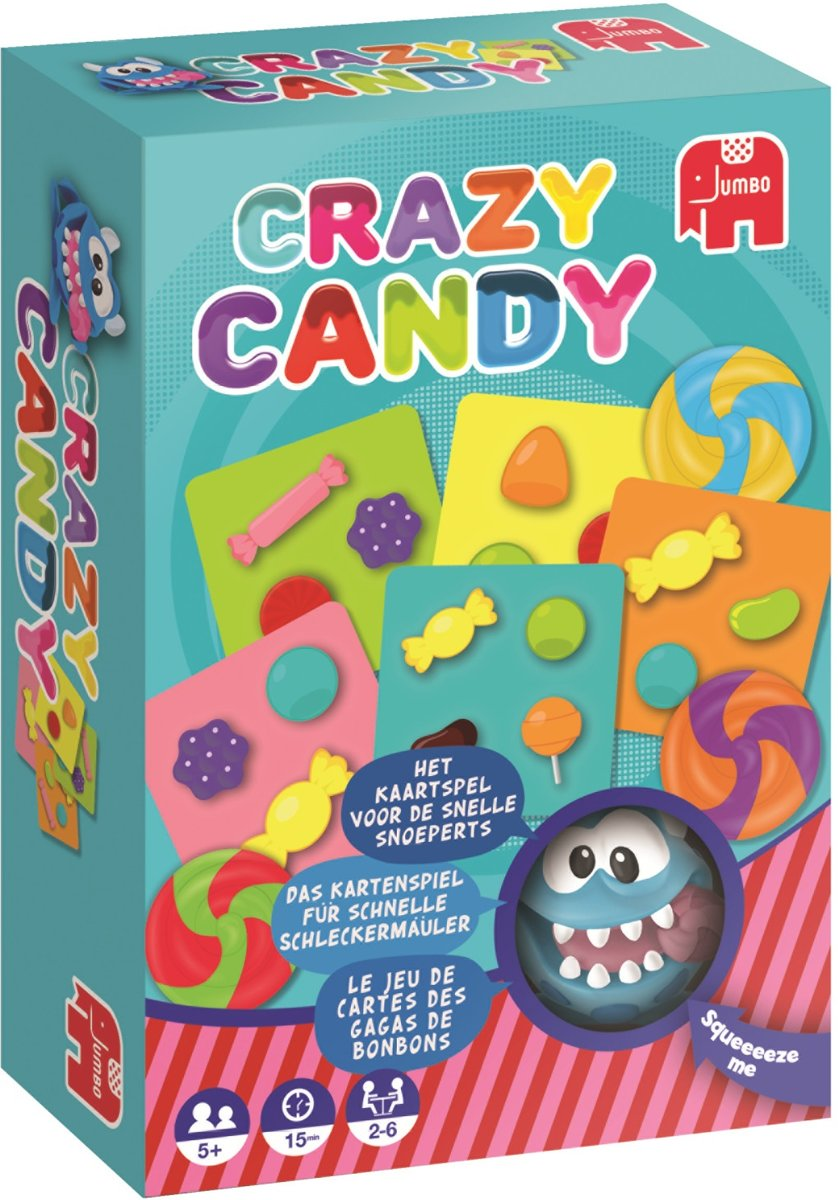 Jumbo Crazy Candy Kinderspel