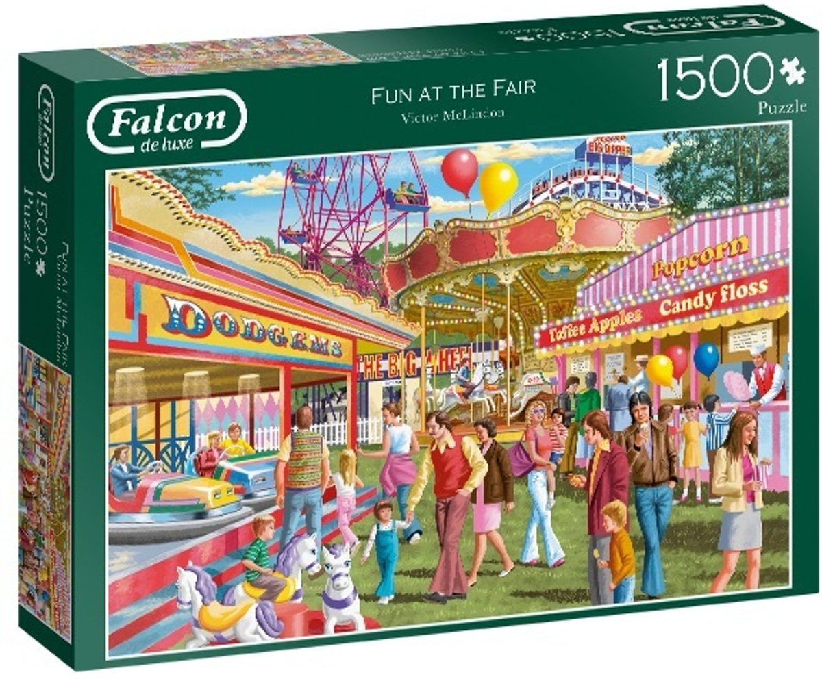 Jumbo Legpuzzel Falcon Fun At The Fair 1500 Stukjes