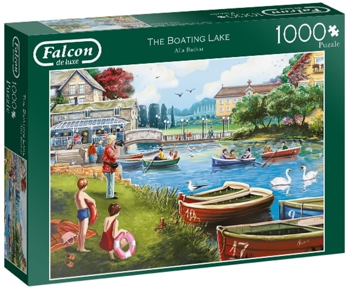 Jumbo Legpuzzel Falcon The Boating Lake 1000 Stukjes