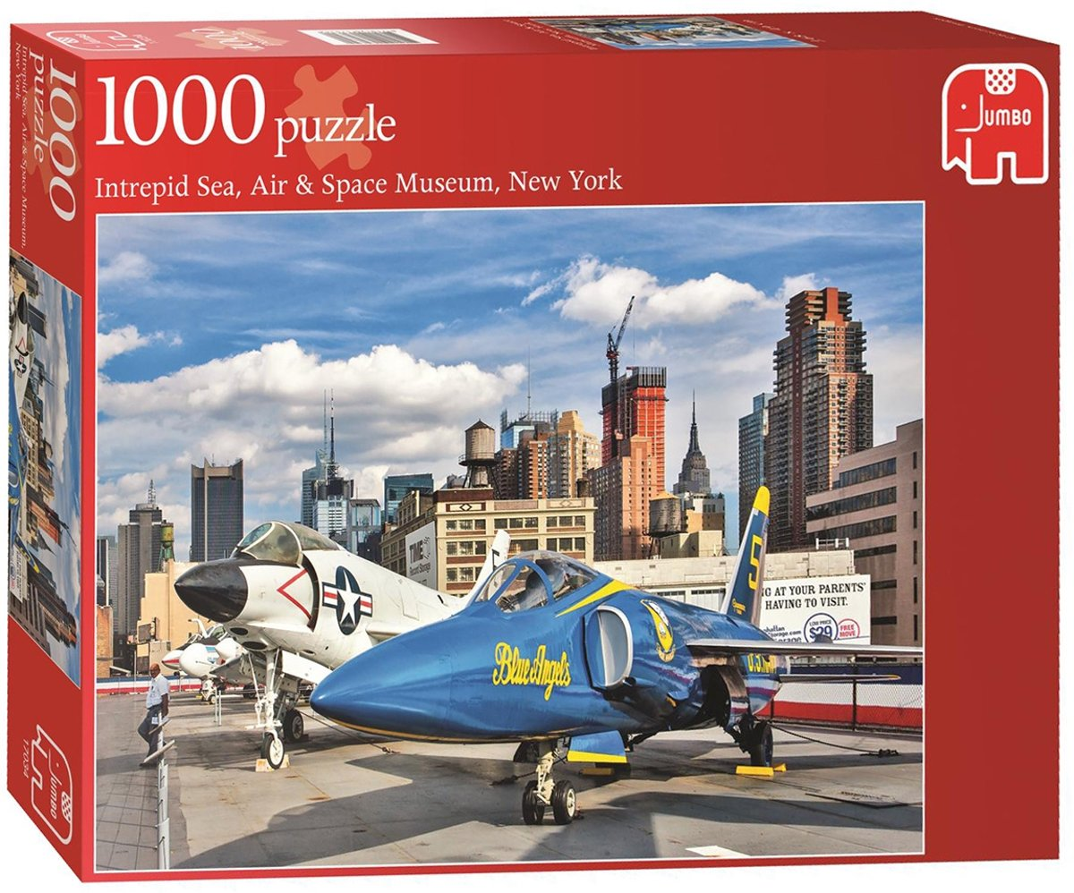 Jumbo Puzzel Intrepid Sea, Air & Space Museum New York - 1000 stukjes