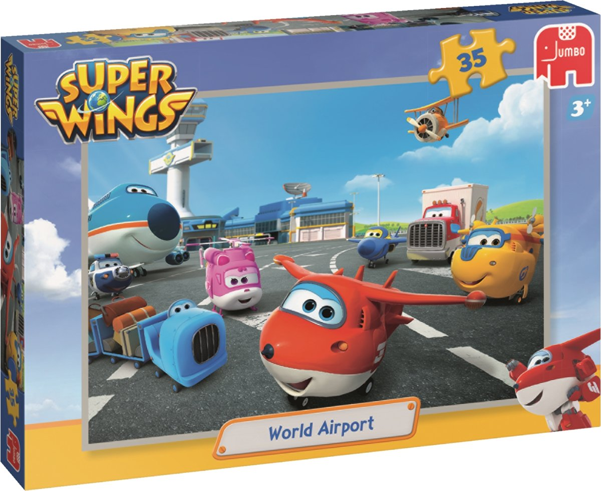 Jumbo Super Wings 35 stukjes