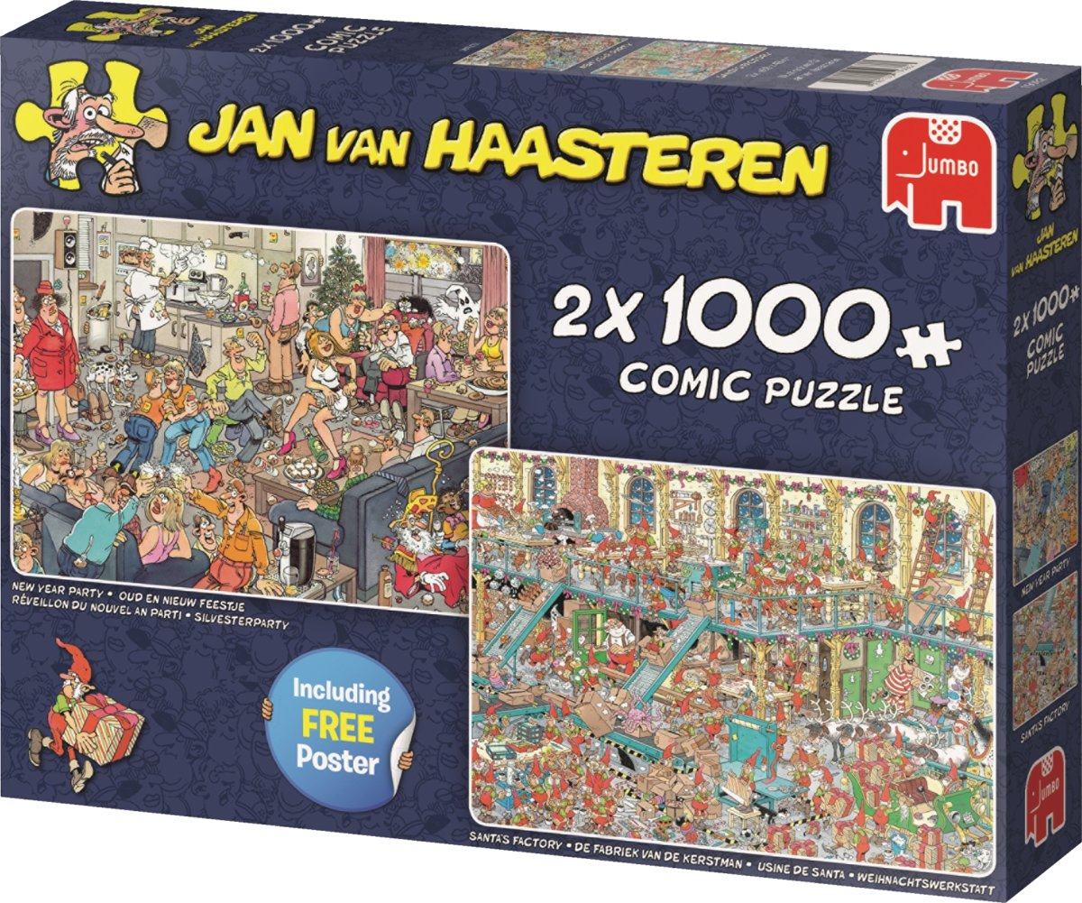 JvH Happy Holidays 2in1 1000pc