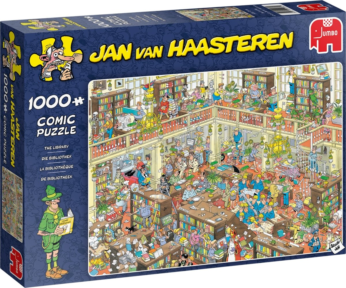 JvH The Library 1000 pcs