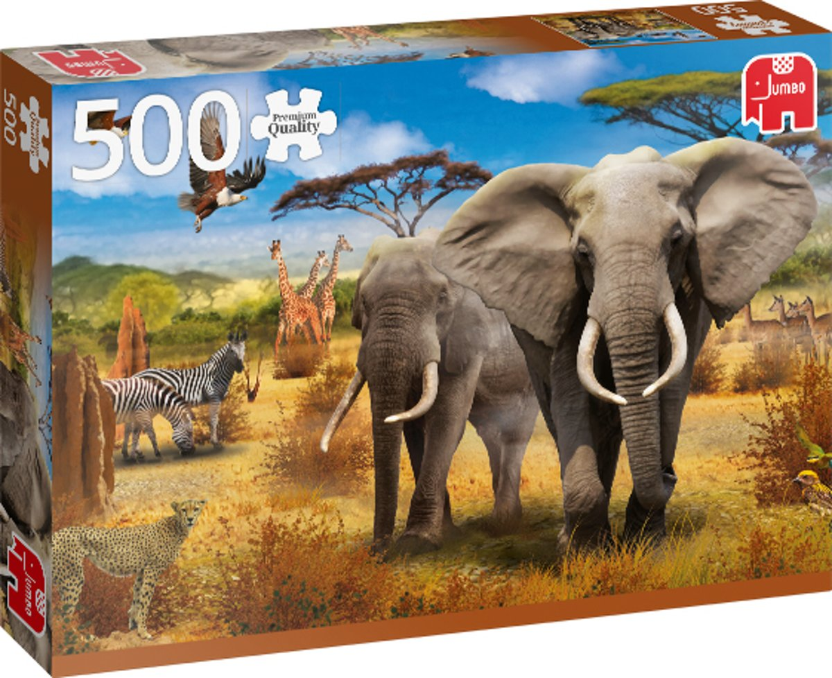 PC African Savannah 500 pcs