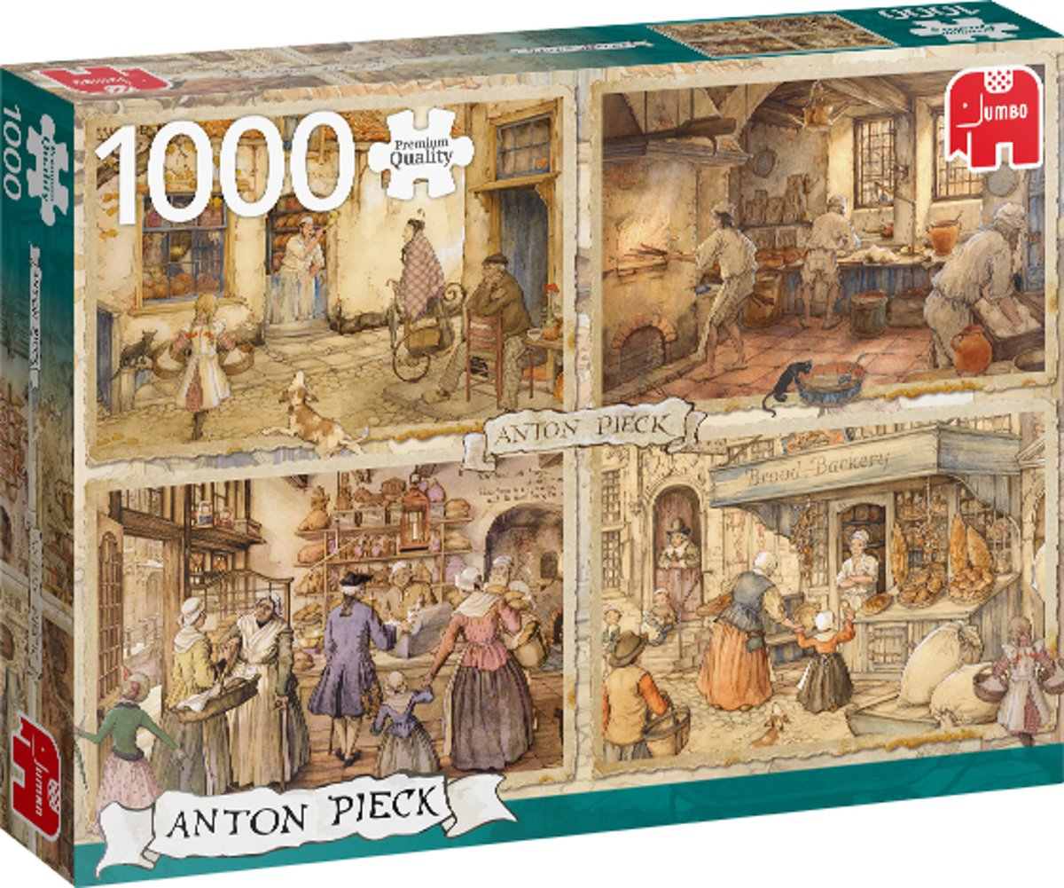 PC Anton Pieck Bakers from the 19th century 1000 pcs