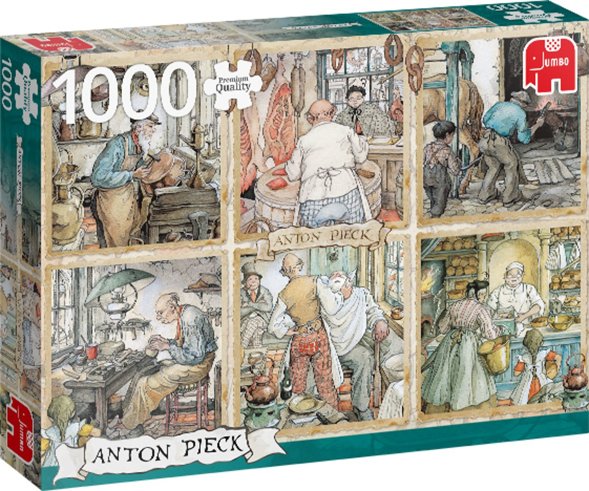 PC Anton Pieck Craftmanship 1000 pcs