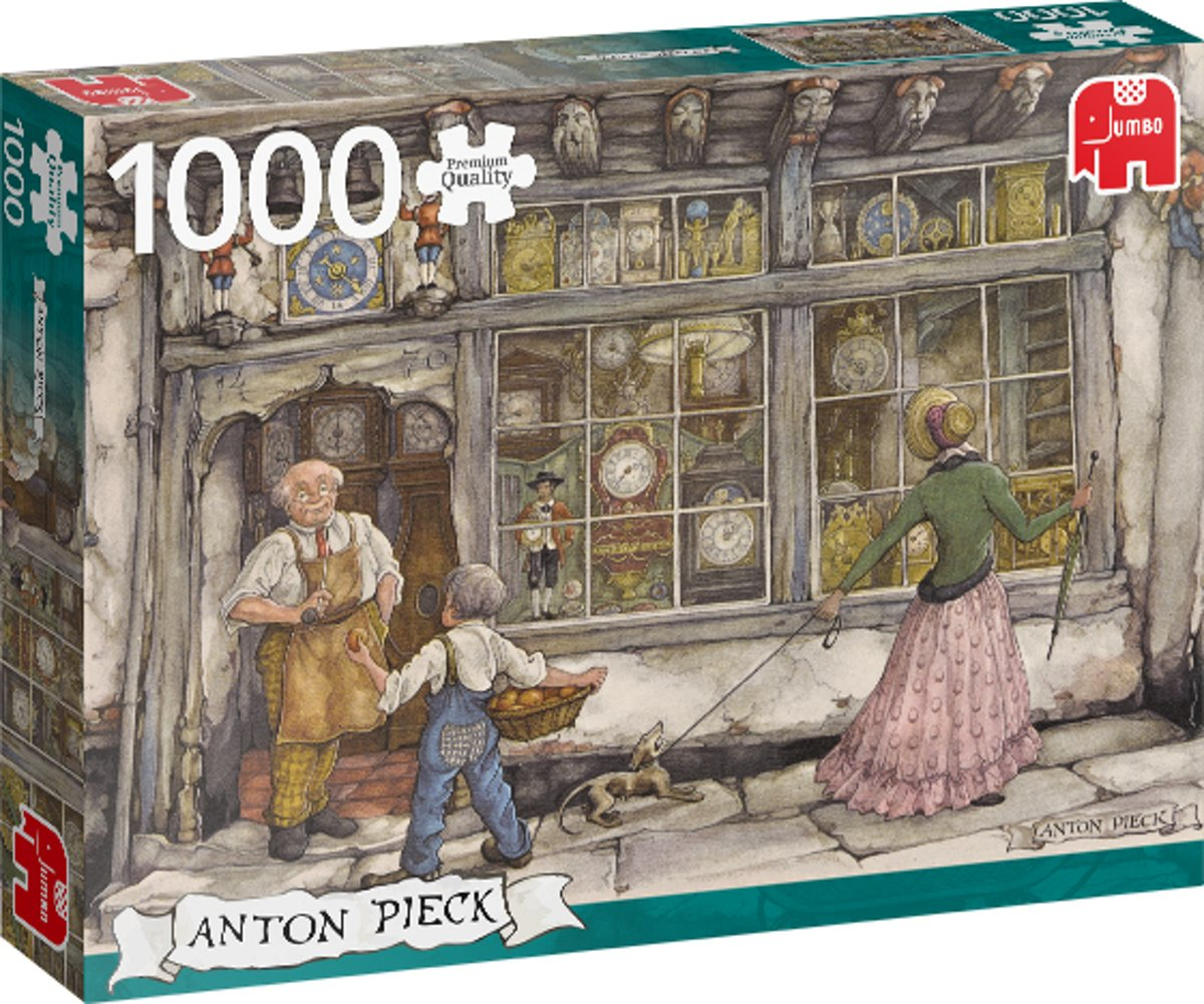 PC Anton Pieck The Clock Shop 1000 pcs