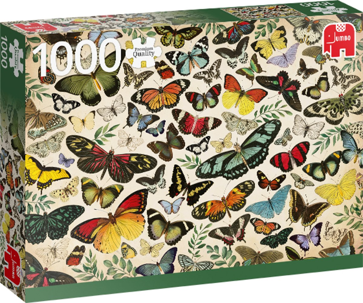 PC Butterfly Poster 1000 pcs
