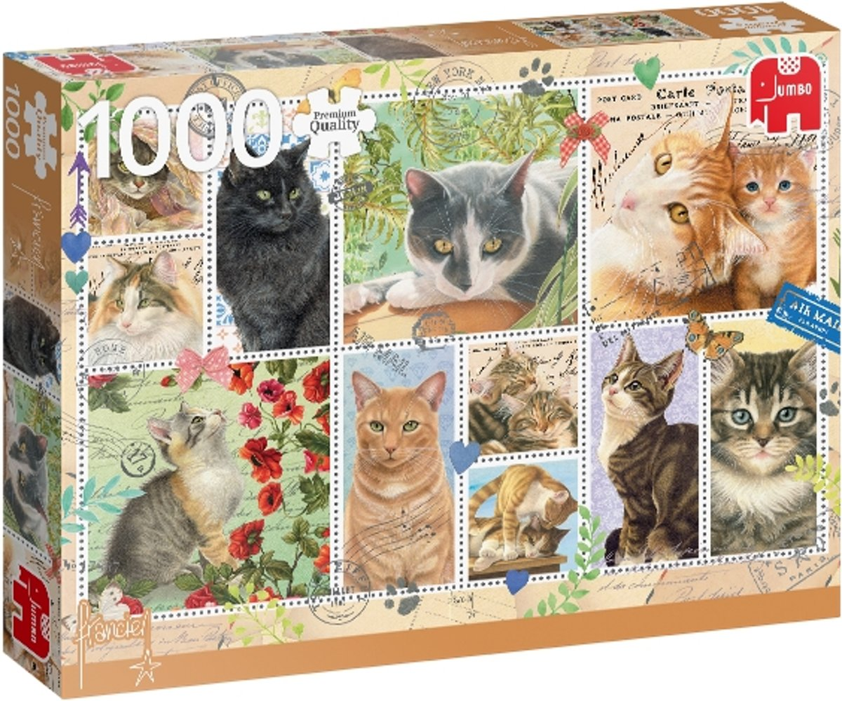 PC Cat Stamps 1000 pcs