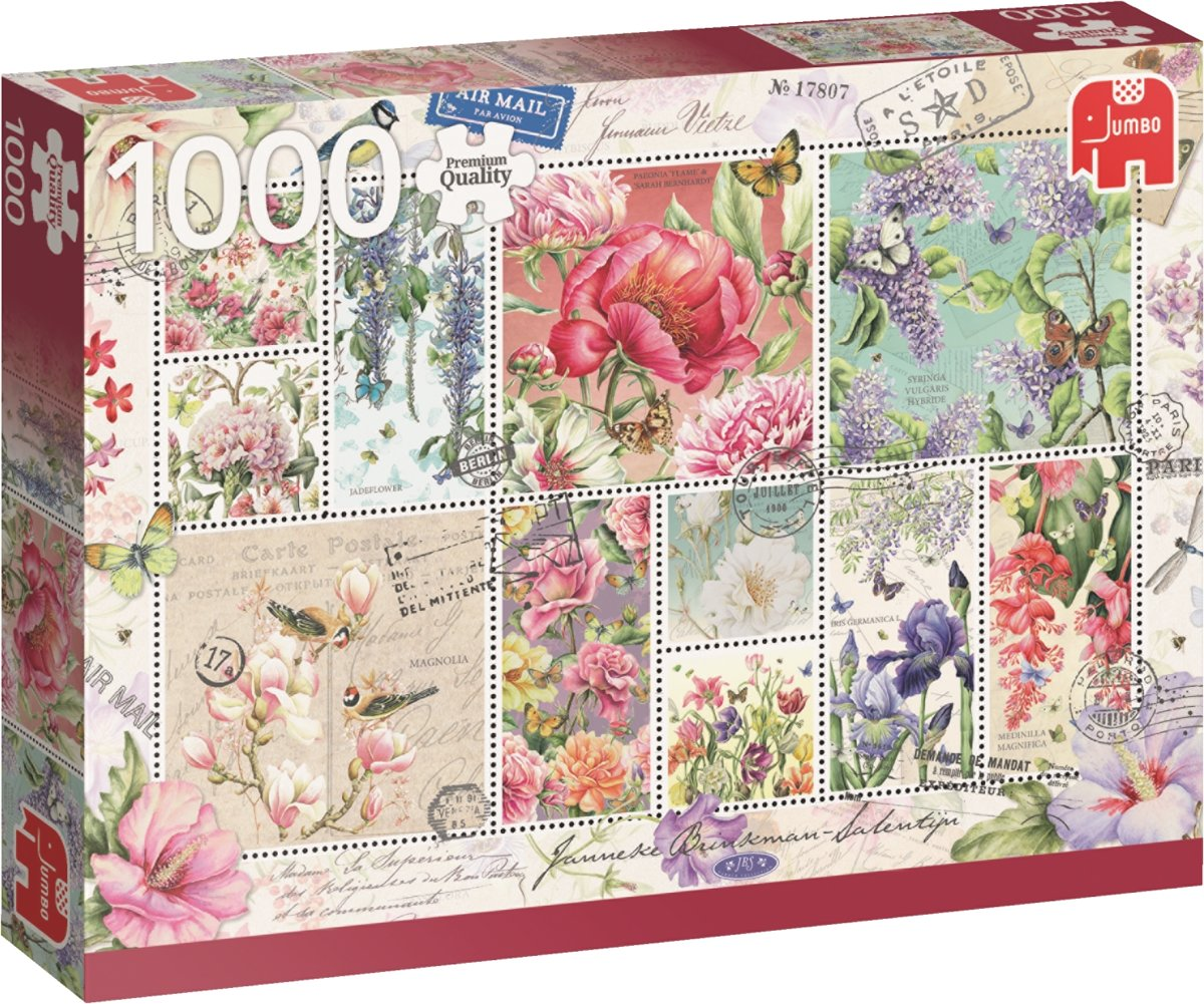 PC Flower Stamps JBS 1000pcs
