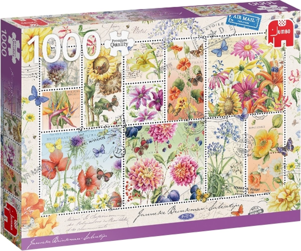 PC Flower Stamps Summer 1000 pcs