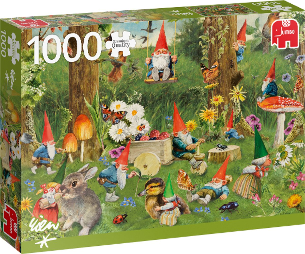 PC Gnomes at the Forest Edge 1000 pcs