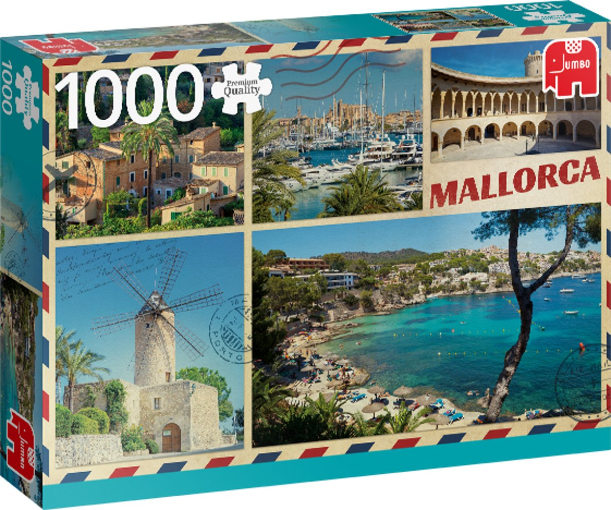PC Greetings from Mallorca 1000 pcs