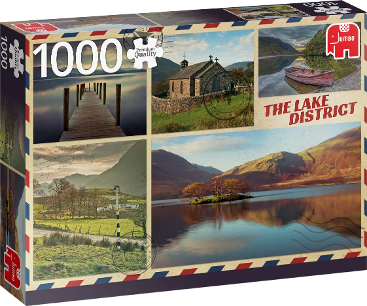 PC Greetings from the Lake District 1000 pcs