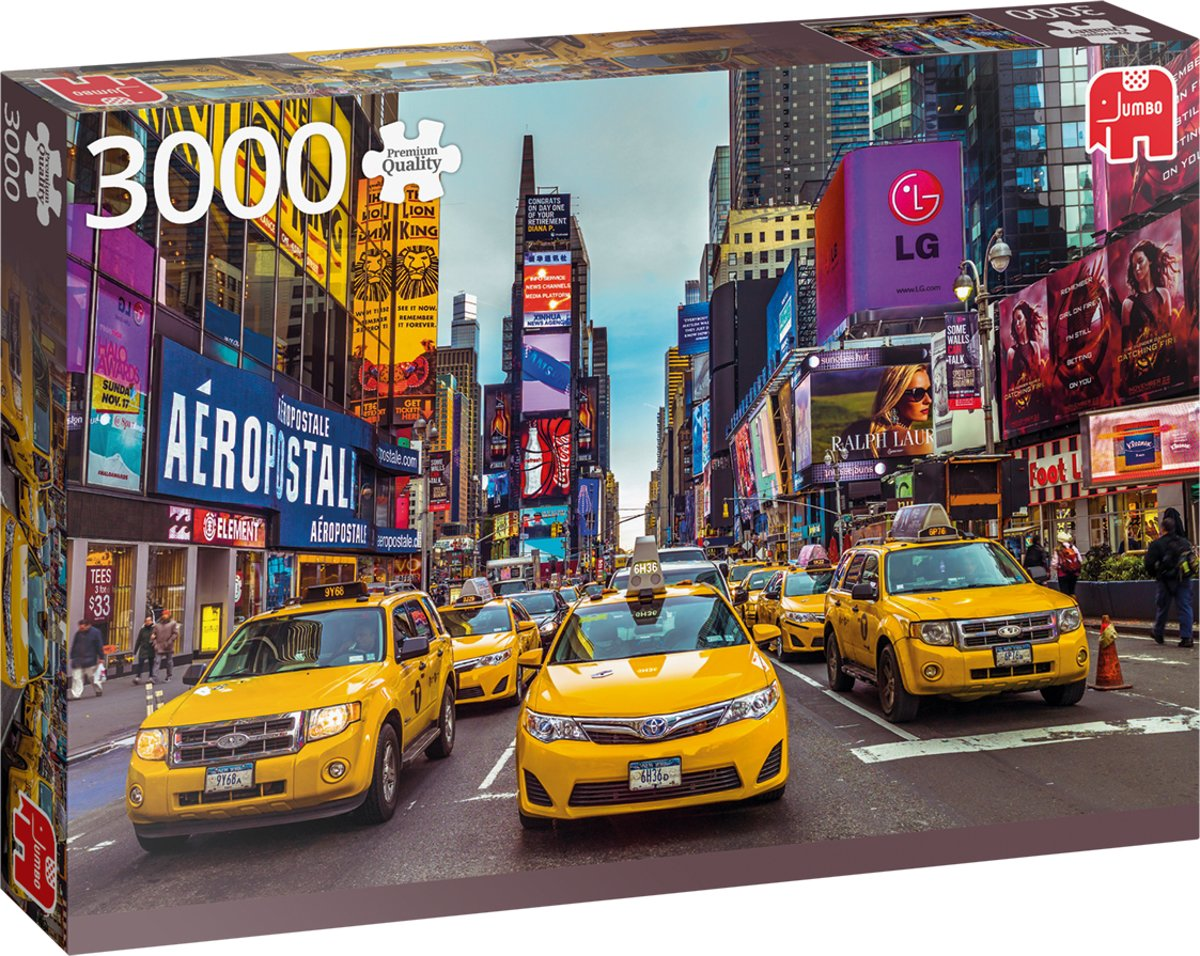 PC New York Taxis 3000 pcs