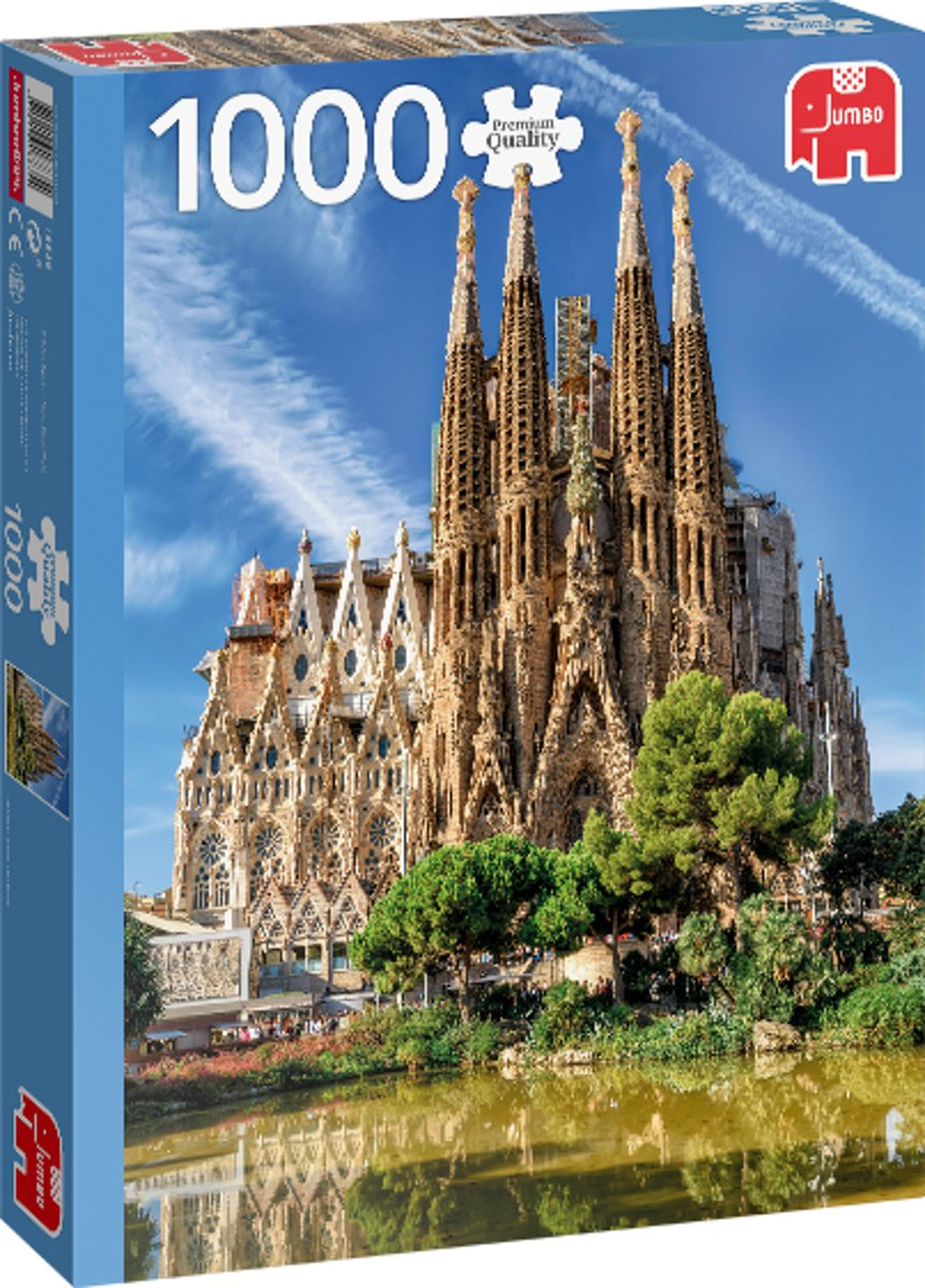 PC Sagrada Familia View, Barcelona 1000 pcs