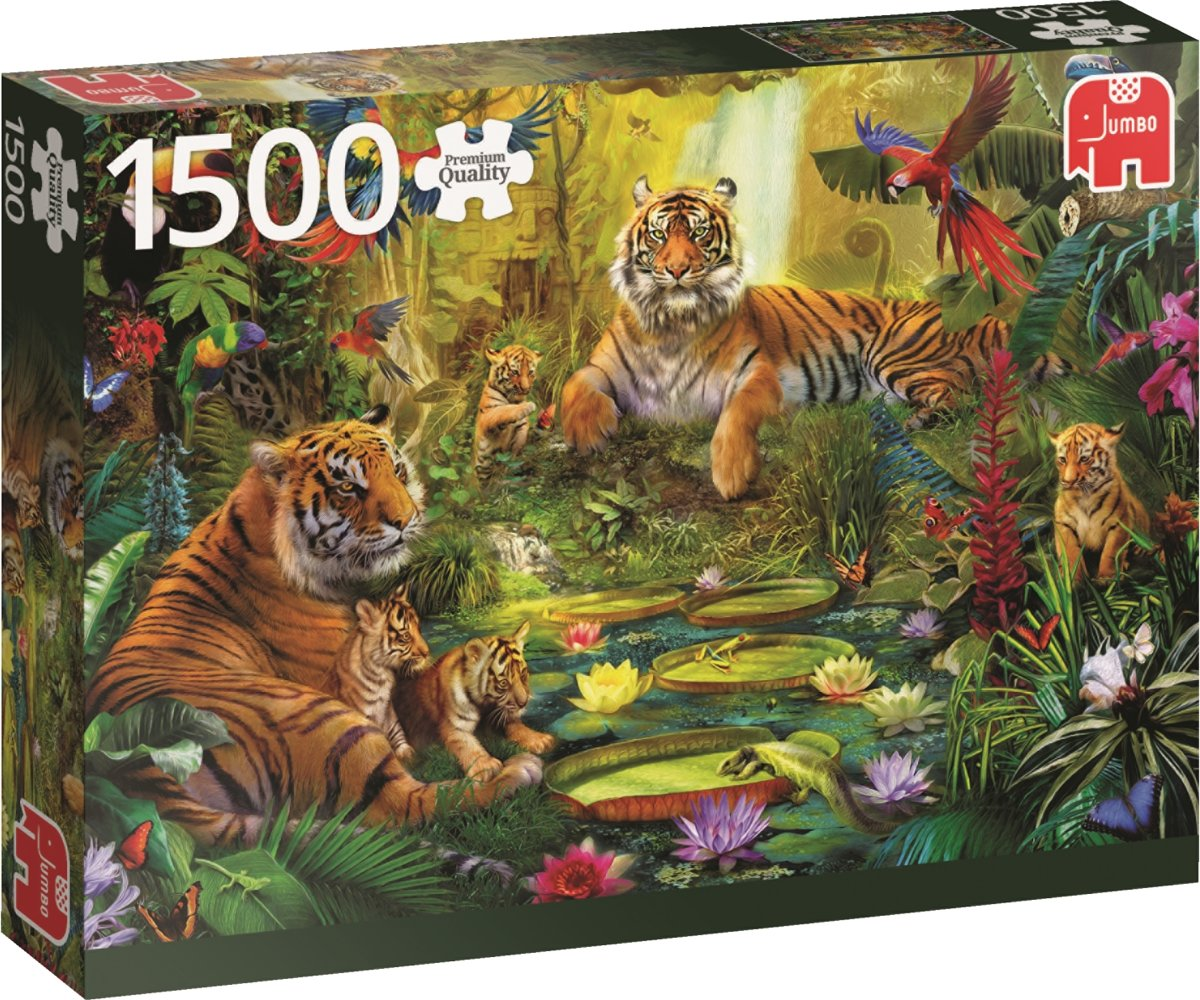 PC Tigers in the Jungle 1500pc