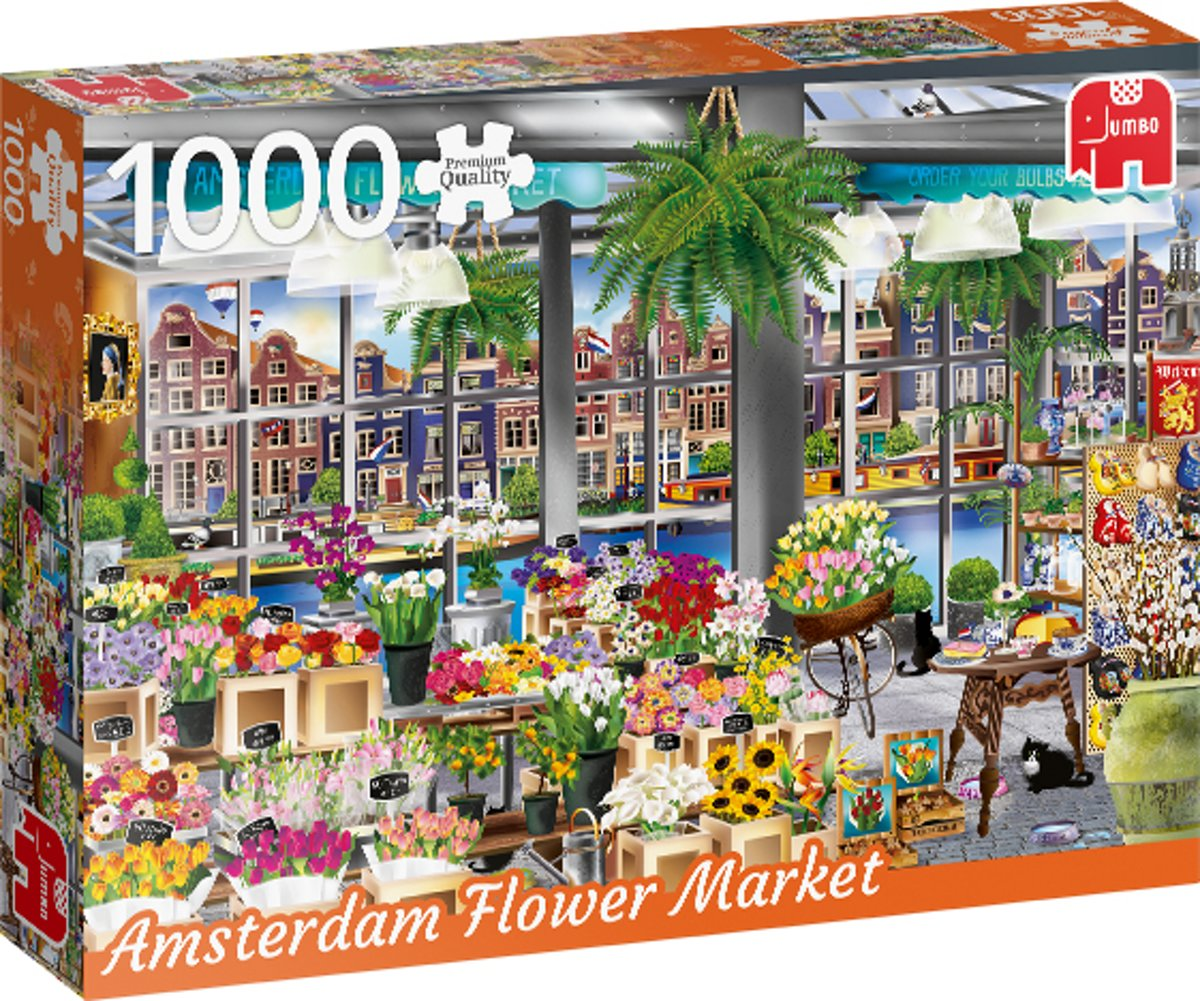 PC Wanderlust Collection, Amsterdam Flower Market 1000 pcs