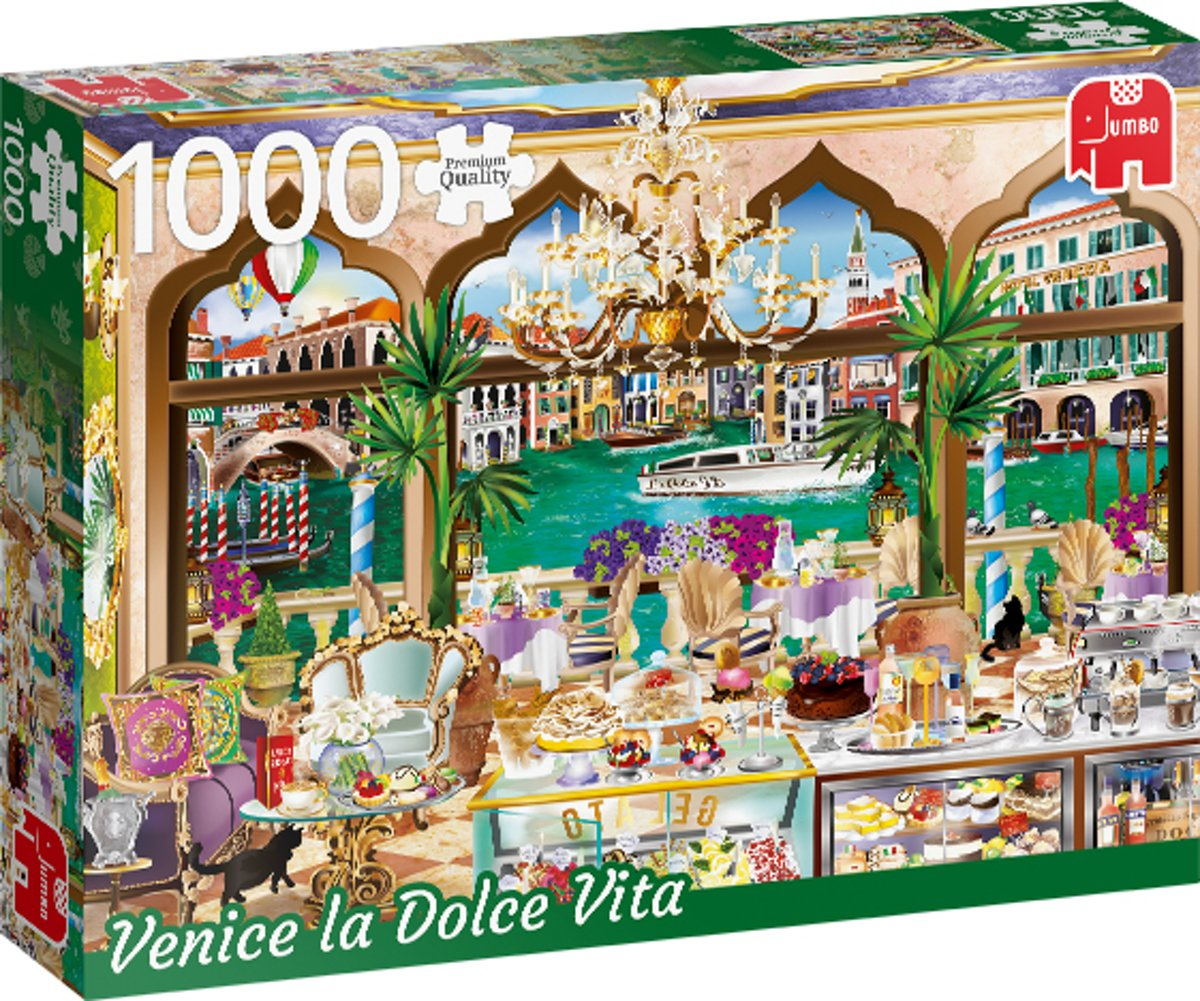 PC Wanderlust Collection, Venice La Dolce Vita 1000 pcs