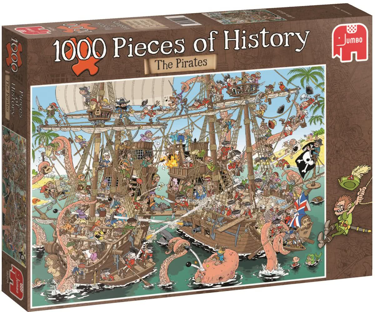 Pieces History - The Pirates - 1000 stukjes