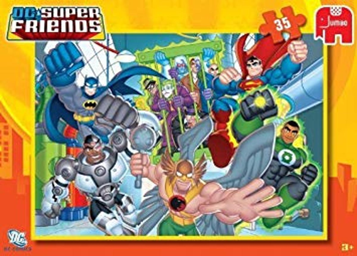 Puzzel Superfriends 35 Puzzelstukjes