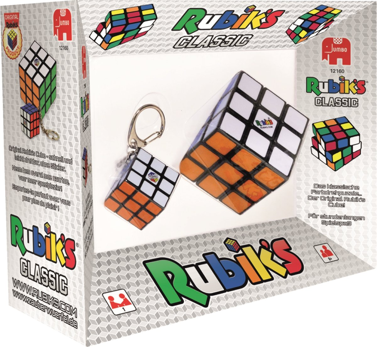 Rubiks 2in1 3x3 and Key Chain