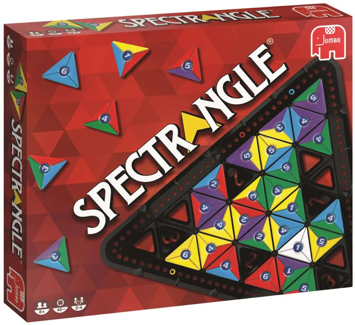 Jumbo Spectrangle bordspel