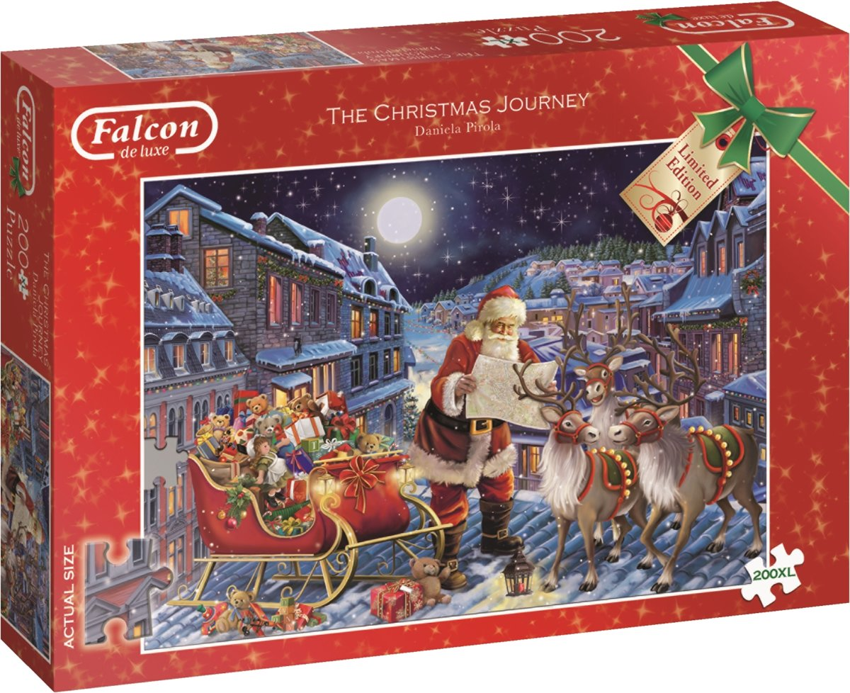 The Christmas Journey Puzzel - 200 stukjes XL - Limited Edition