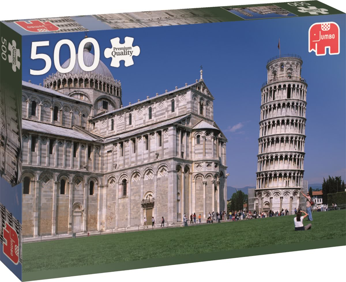 Tower of Pisa - Puzzel 500 stukjes