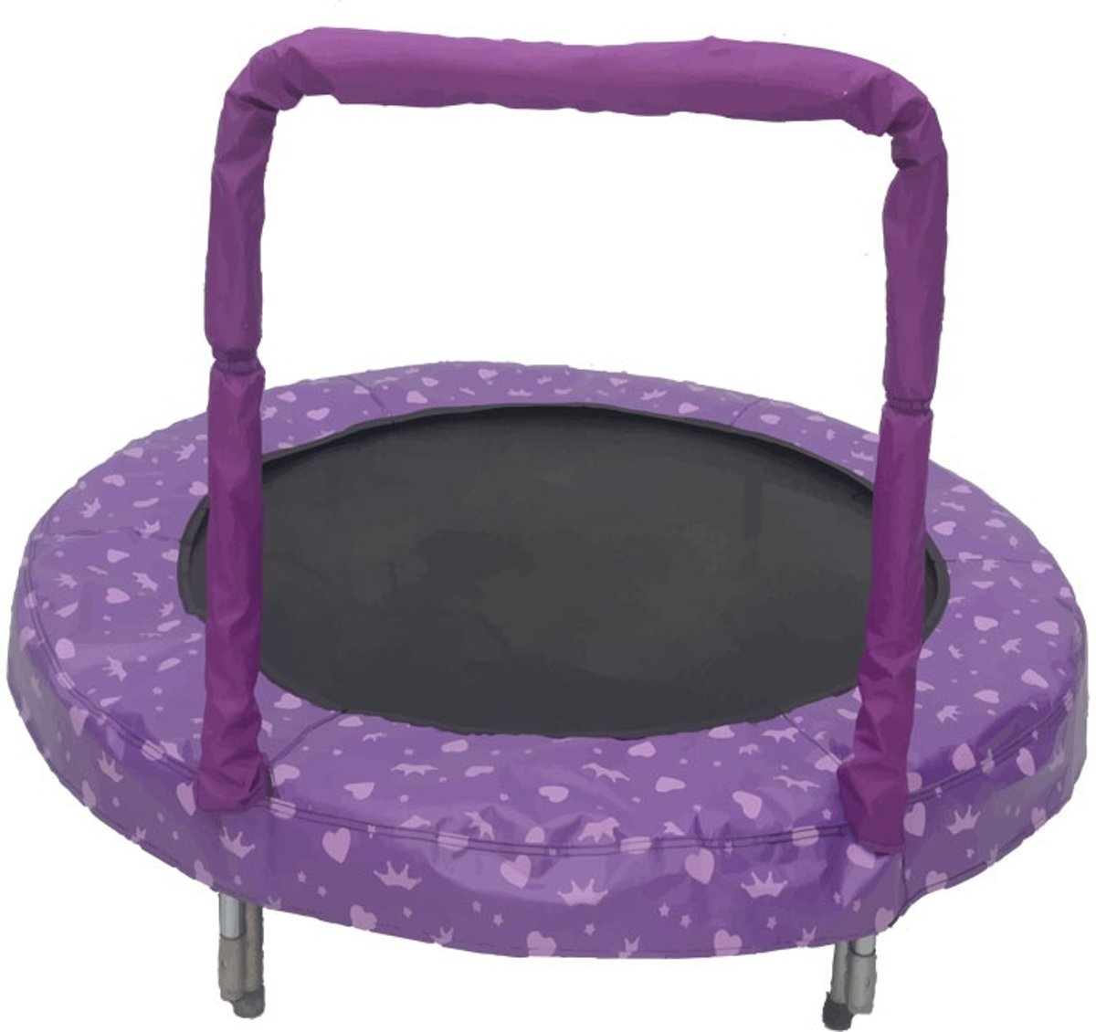 Trampoline Mini Bouncer Princess 121 Cm Paars