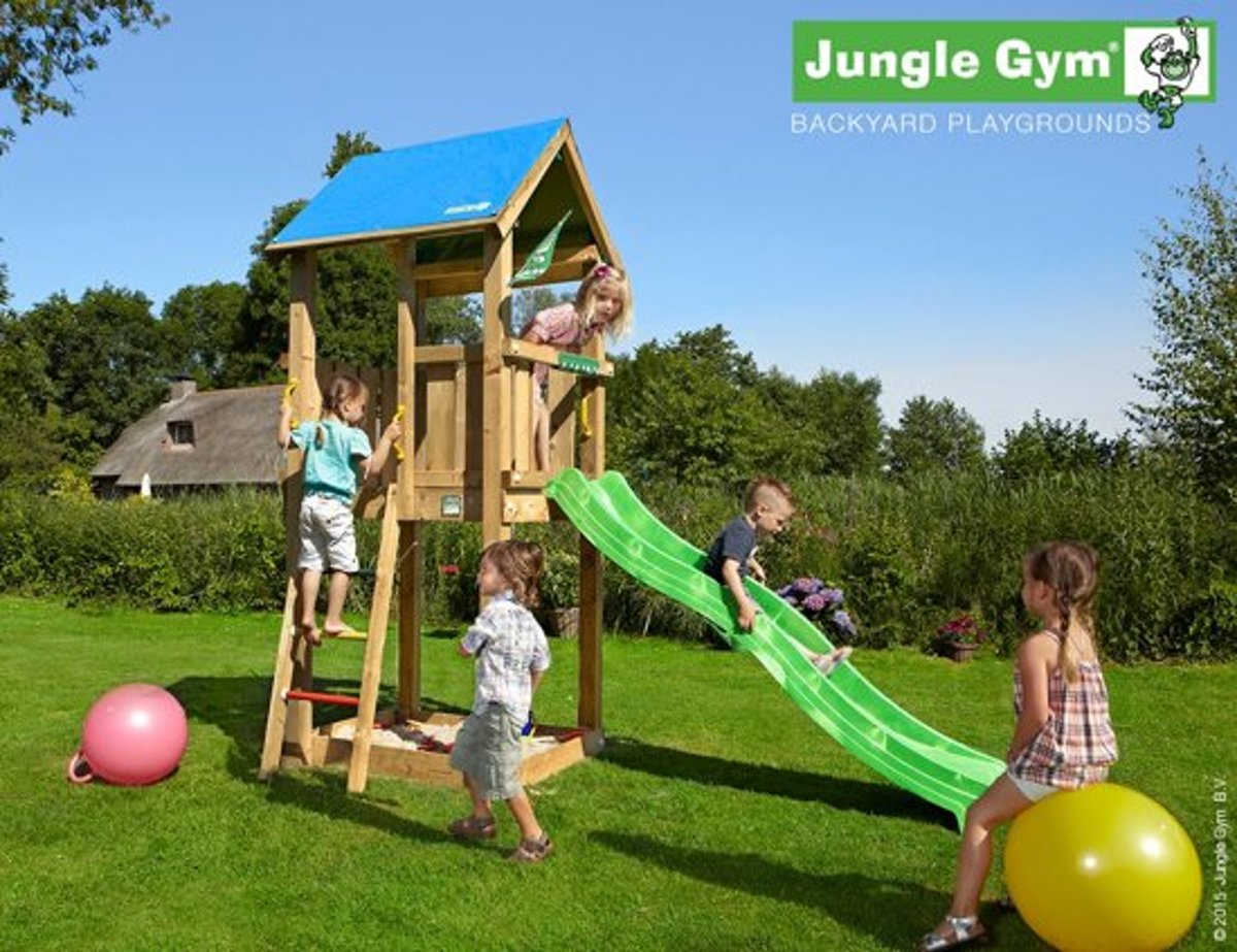 Jungle Castle Geel – Montagekit (excl hout)