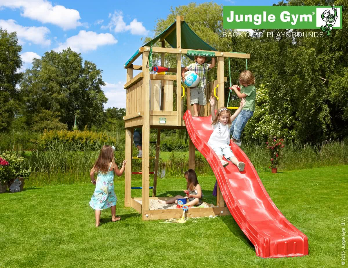 Jungle Gym Lodge Blauw