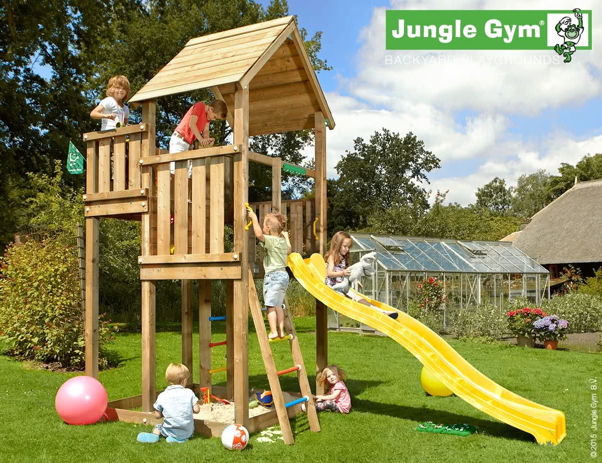 Jungle Gym Palace Rood