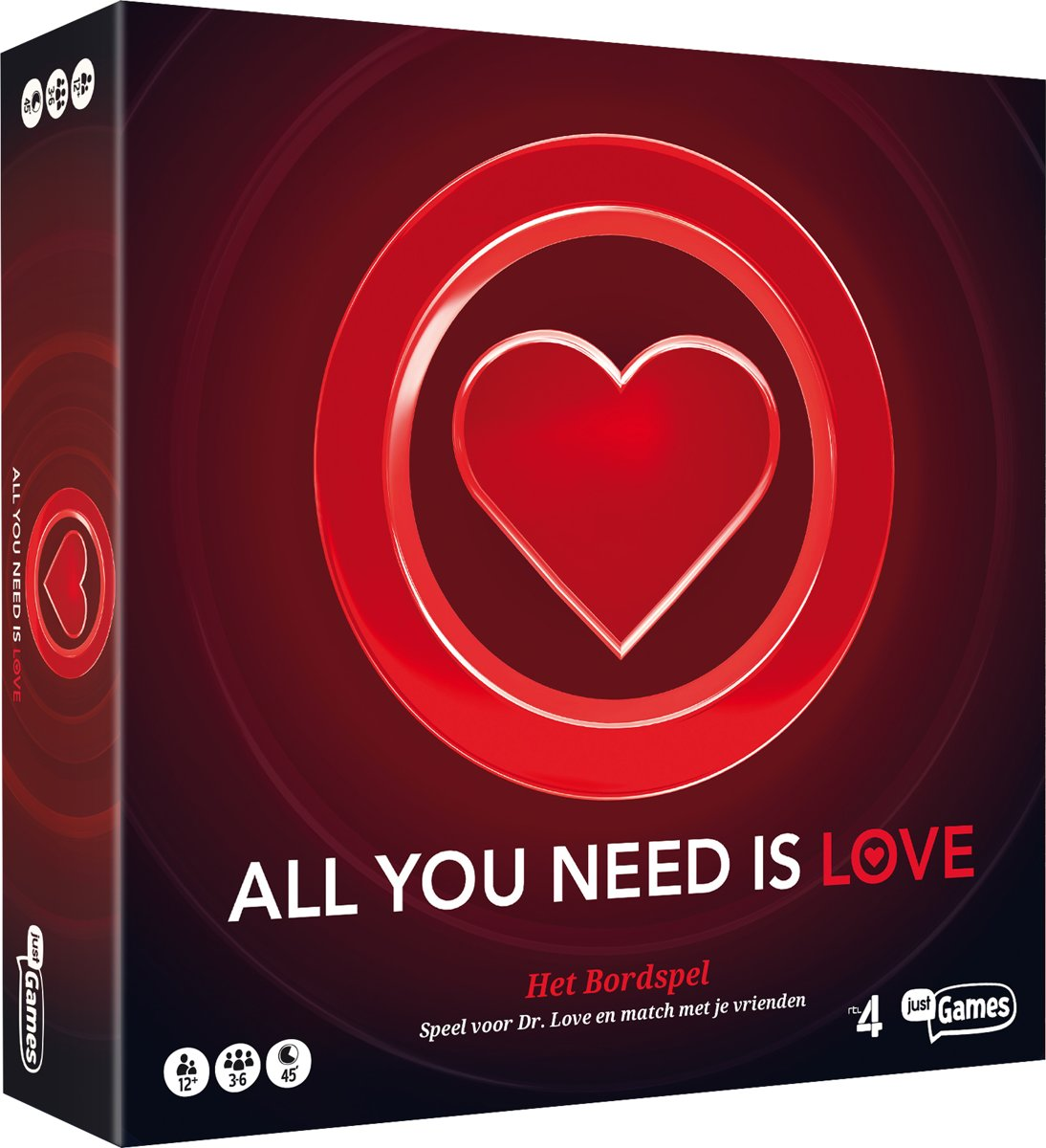 All You Need Is Love Bordspel