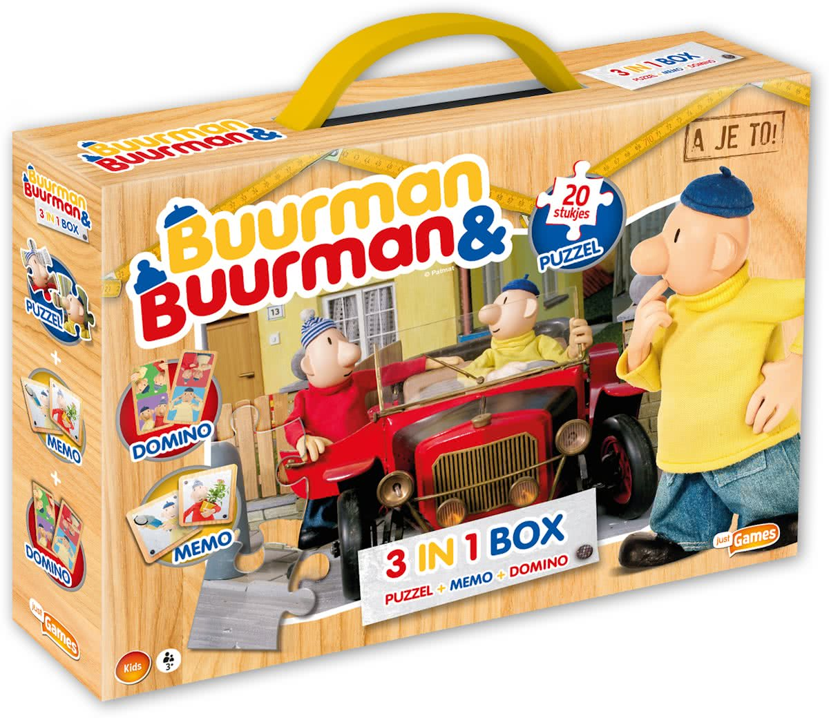 Buurman & Buurman - 3-in-1 Box (Puzzel+Memo+Domino)